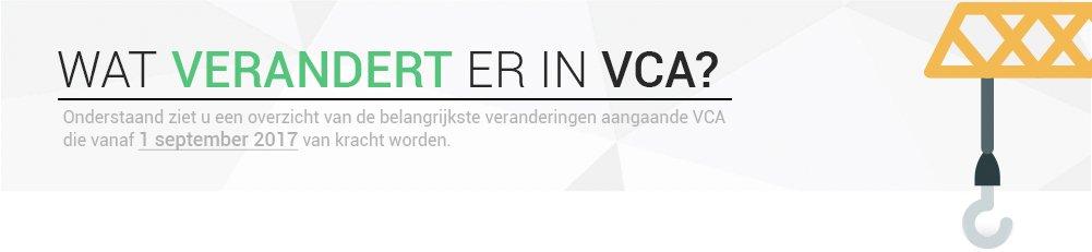 VCA Veranderingen